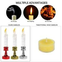 Creative LED Candle Lamp Simulation Flame Light Party Candels Wedding C6V5