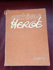 ARCHIVES HERGE 1973  Tome 1 versions originales de Tintin