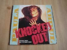 "-PAULA ABDUL-KNOCKED OUT [shep pettibone remix] (VIRGIN 7"") GATEFOLD SLEEVE"