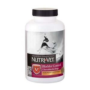 Nutri-Vet Bladder Control|Dog Bladder Control Supplement|Reduce Urinary