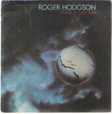 """ROGER HODGSON 7""""PS Spain 1984 Had a dream"""