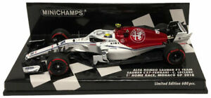 Minichamps Sauber Alfa Romeo C37 #16 Monaco GP 2018 - Charles Leclerc 1/43 Scale
