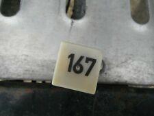 no 167 RELAY VW Golf MK2 POLO MK4 TT Fuel Pump Relay Genuine OEM 191 906 383 C