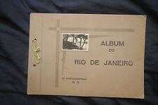 """Vintage Photo Album """"ALBUM DO RIO DE JANEIRO - 10 Photographias"""""""