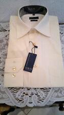 Klassische Herrenhemden mit Umschlagmanschette aus Polyester