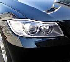 05-11 BMW E90 3-SERIES PROJECTOR HEADLIGHT LAMP UPPER BEZEL MOULDING TRIM NEW