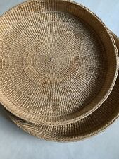 Japanese Woven Nesting Basket Bowls Japan Weaving