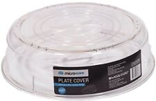 Microware Microwave Plate Cover With Air Vents - Transparent, Stain & BPA Free