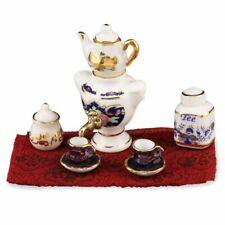 Dollhouse Miniature Porcelain Samovar Set by Reutter Porcelain