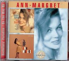 ANN MARGRET - BACHELORS' PARADISE / ON THE WAY UP    CD  2002  COLLECTABLES