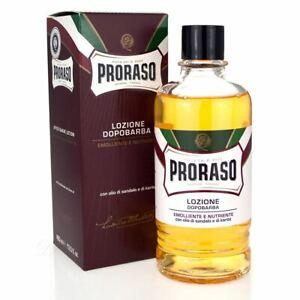 Proraso Nourish Sandalwood After Shave Liquid Lotion 400ml7