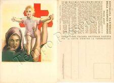 Cartolina Lotta contro la tubercolosi (TBC) / illustratore Busi