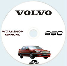 Volvo 850,workshop manual + full wiring,manuale officina Volvo 850/940/960