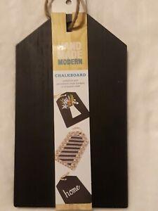 Chalkboard Wood Sign Black Hanging Board Craft Wedding Tag Shaped - Brand New!!!
