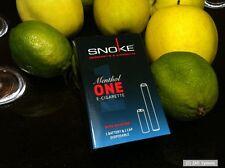 SNOKE E-Zigar. ONE SET Menthol mit Nikotin, 1x Akku Battery + 1x CAP, NEU, OVP