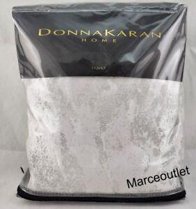 Donna Karan Home Luna Collection KING Duvet Cover Platinum