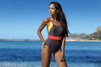 New ladies womens swimming costume one piece swimsuit swimwear UK Size 10 12 14