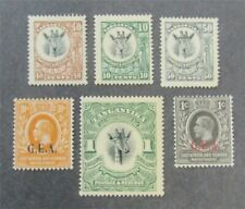 nystamps British Tanganyika Stamp # 8//23 Mint OG H $31