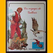 Collection Contes - Bandes dessinées LES VOYAGES DE GULLIVER Art Studium 1979