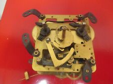 Antique Spring Driven Time and Strike Clock Movement