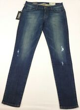 SIWY HANNAH LOW RISE SKINNY JEAN DARK, SIZE 27 (TAG),  29WX29L MEASURED NEW WT