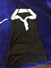 Dress in black and white. size 16 by Amy Byer (has shoulder straps)