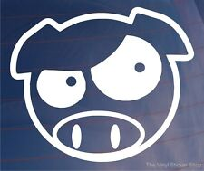 EVIL ANGRY SCOOBY PIG Car/Window/Bumper Vinyl Sticker - Ideal for Subaru Impreza