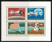 HUNGARY-1970.Souv.Sheet - Apollo 13 (space) MNH! Mi 2594-2597