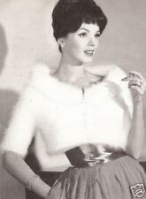 Vintage Knitting Pattern to make Angora Shortie Designer Jacket AngoraShortie