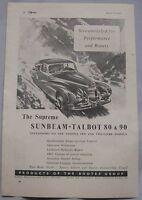 1949 Sunbeam-Talbot 80 & 90 Original advert No.2