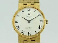 Rolex Cellini Manual Winding Full 18k Gold Lady