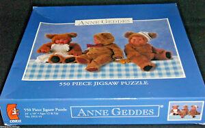 Anne Geddes Jigsaw Puzzle Teddy Bear 550 Pcs NEW Sealed 2312-14 Ceaco