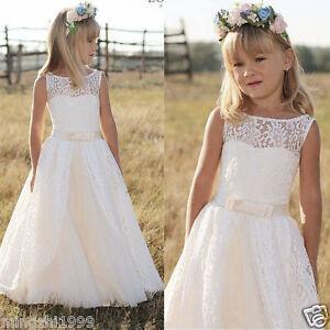 2020 Communion Party Christmas Dresses Children Girl Dresses  Flower Girl Dress
