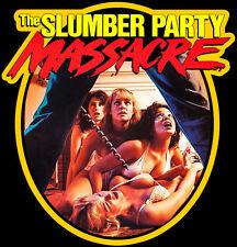 80's Cult Horror Classic Slumber Party Massacre Poster Art custom tee Any Size