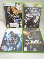 Xbox 360 y Xbox Juegos Sonic Creed 007 leyendas Medalla de Honor Splinter Cell