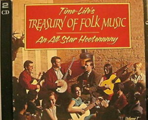 Time-Life's Treasury Of Folk Music: An All Star Hootenanny Volume One 2 CD New!