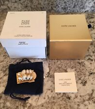 """Estee Lauder Solid Perfume Compact """"Sydney Opera House"""" New with Boxes"""