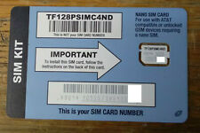 Lot of 25 New Straight Talk (At&T Network) Nano Sim Only 4g Lte Resellers!
