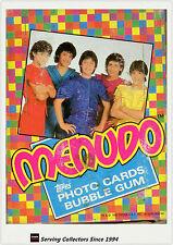 1983 Topps Menudo Bubble Gum Trading Card Wax Box (36 packs)-rare