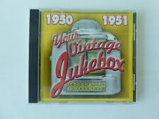 Your Vintage Jukebox 1950-1951 CD - 16 HITS FROM 1950 & 1951 - FREE SHIPPING
