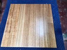 Fiddleback Tas Oak Table Top