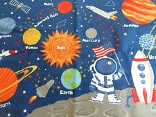 "Circo Astronaut Space Galaxy Planet Rocket  Rectangular Rug 39"" x 54"" NIP"