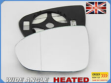Wing Mirror Glass For OPEL MERIVA B 2010-2014 Wide Angle HEAT Left Side #F038