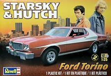 Revell 1/25 Starsky & Hutch Ford Torino Plastic Model Kit 85-4023 854023