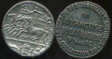 SYRACUSE  decadrachme    V  av JC    COLLECTION BP