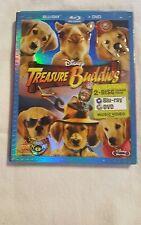 Treasure Buddies (Blu-ray/DVD, 2012, 2-Disc Set)