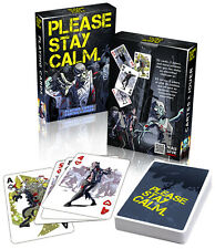 Please Stay Calm: Zombie Playing Cards - Limited Edition