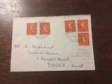"""GB 1964 Envelope + """"Middlesex Philatelic Societies, Acton"""" SHS ..... First Use??"""