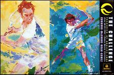 LeRoy Neiman Poster The Challenge tennis Make an Offer!!