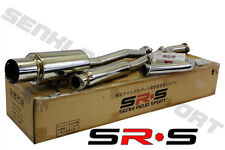 SR*S JDM Full T-304 Stainless Steel 90 91 92 93 ACCORD Catback Exhaust System